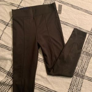 Hunter green Gap Factory seamed leggings